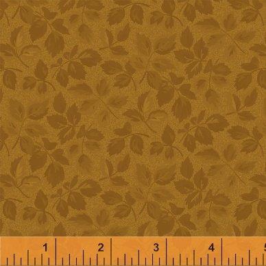 Fabric Legendary Loves Leaves 42972-6 Gold