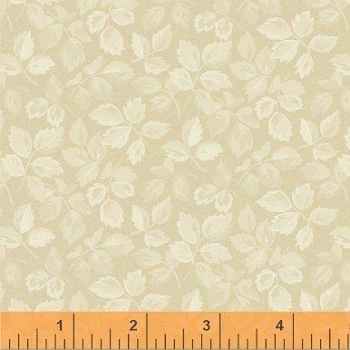 Fabric Legendary Loves Leaves 42972-8 Sand