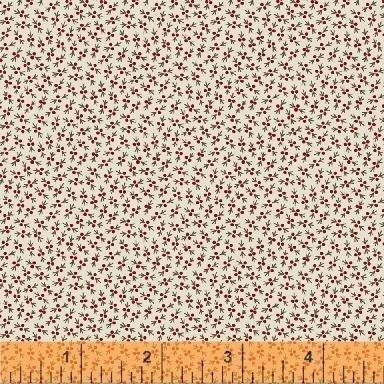Fabric Legendary Loves Mini Berry 42973-10 Cream