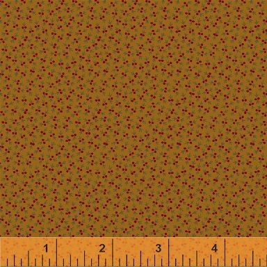 Fabric Legendary Loves Mini Berry 42973-6 Gold