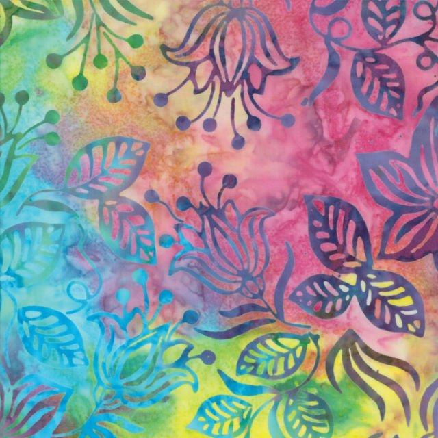 Fabric Rising Tide Batiks Sunrise 4342 11