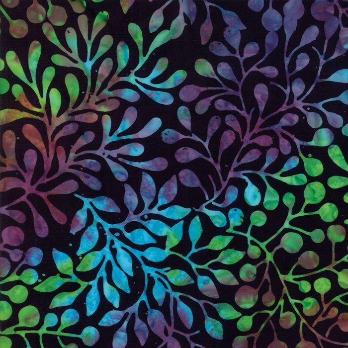 Fabric Carnival Batiks 4348-38 Midnight