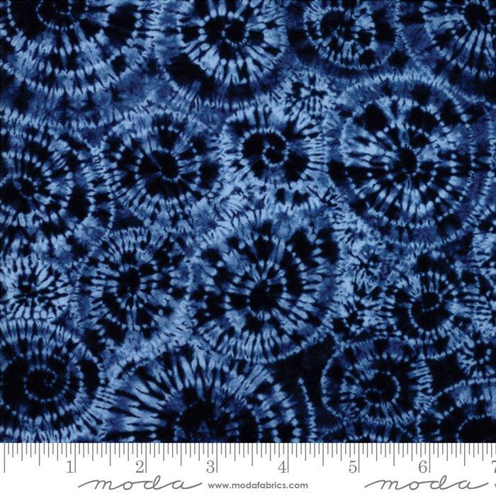 Fabric Nuno Uzumaku Neibi 48043-11 Dk Blue