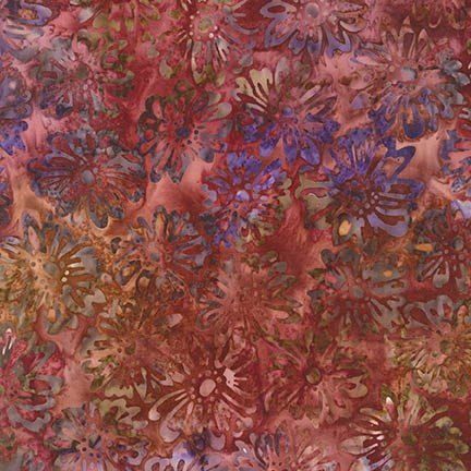 Fabric Artisan Batiks Terrace 2 AMD-16767-281 Pomegranate