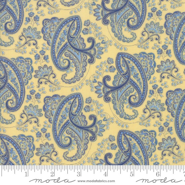 Fabric Regency Ballycastle 42325-11 Sudbury Yellow