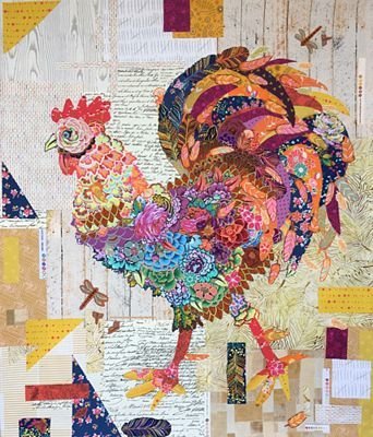 Pattern FW Doodle-Doo Rooster