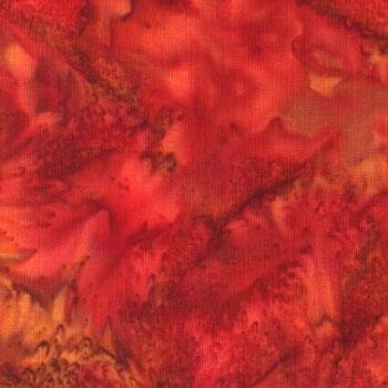 Fabric  Bali Watercolors Pomegranate 1895-381