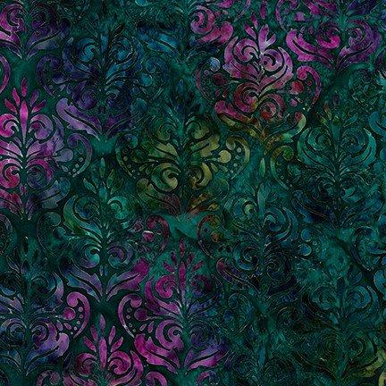 Fabric Artisan Batiks Rosette AMD-18941-201 Jewel