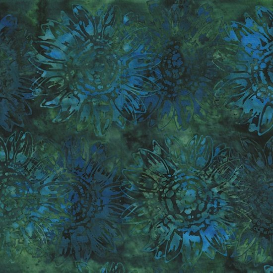 Fabric Seed to Blossom MR1-31 Emerald