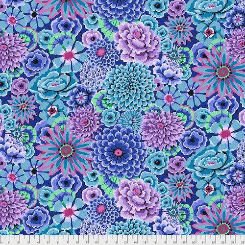 Fabric Kaffe Enchanted PWGP172-Blue