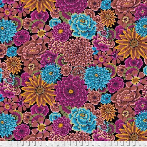 Fabric Kaffe Enchanted PWGP172-Dark