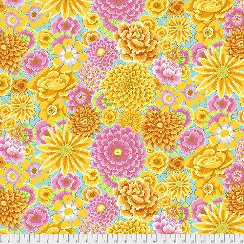 Fabric Kaffe Enchanted PWGP172-Yellow
