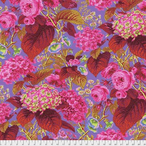 Fabric Kaffe Rose and Hydrangea PWPJ097-Hot