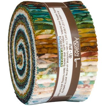 Precuts Artisan Batiks RU-843-40 Tavarua