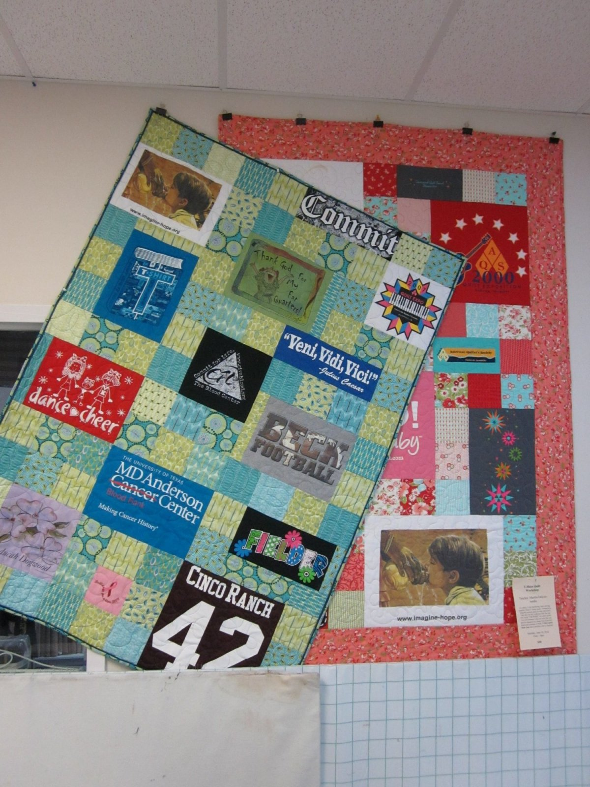 T Shirt Quilt Pattern With Different Size Blocks Simple Design Ideas