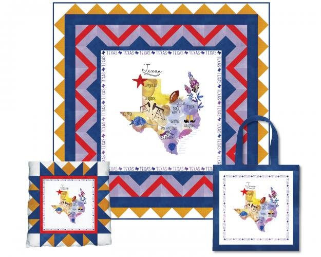 Fabric PANEL Texas 51345P-X