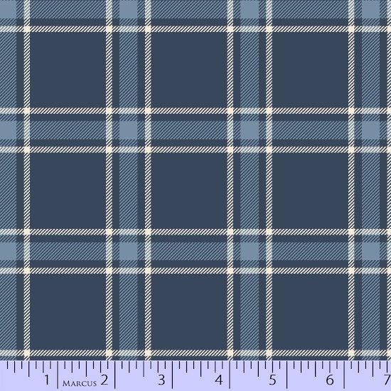 Fabric Primo Plaids New Blues U040-0110
