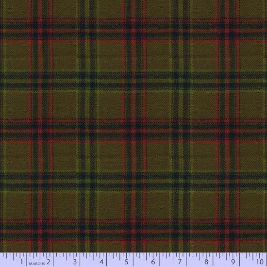 Fabric Primo Plaids Maple Lake U087-0116