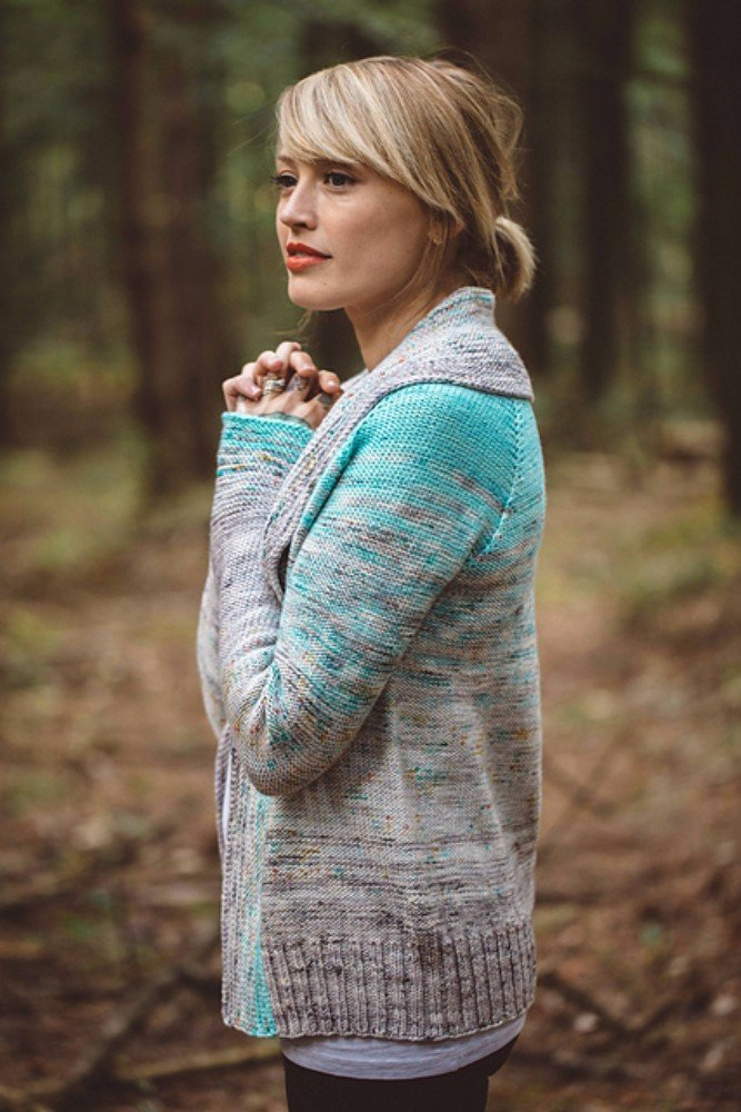 Comfort Fade Cardi by Andrea Mowry of Drea Renee Knits