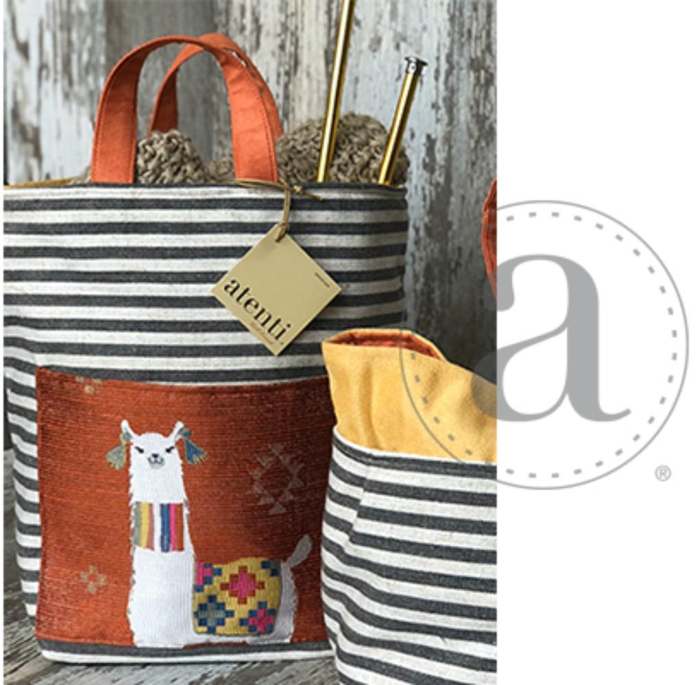 Atenti Mamallama Hope Basket Orange