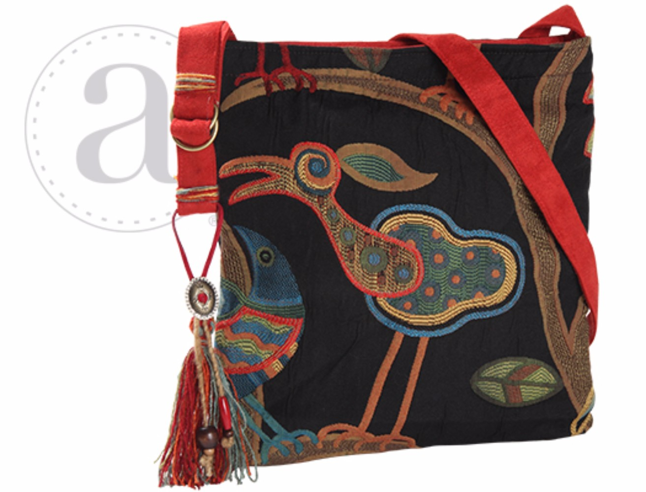 Haversack in Birdy Black by Atenti