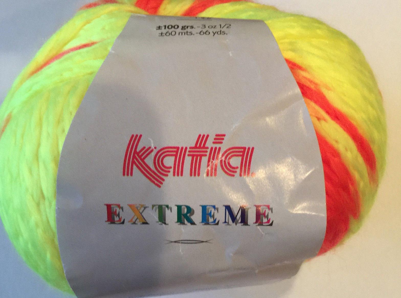 Extreme - Acrylic Polyamide Yarn by Katia