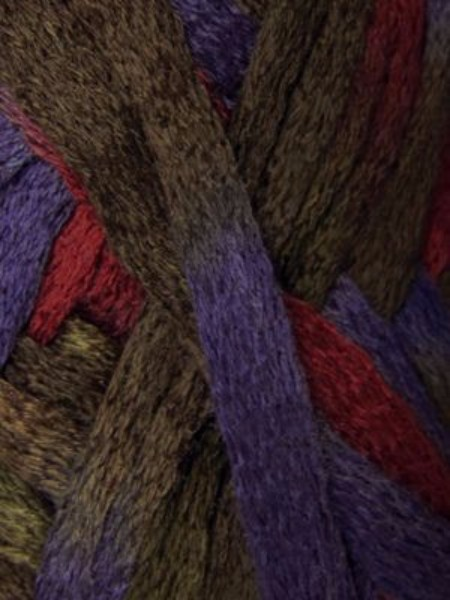 Lilac and Deep Purple Color 30. Knitting Fever Flounce Yarn