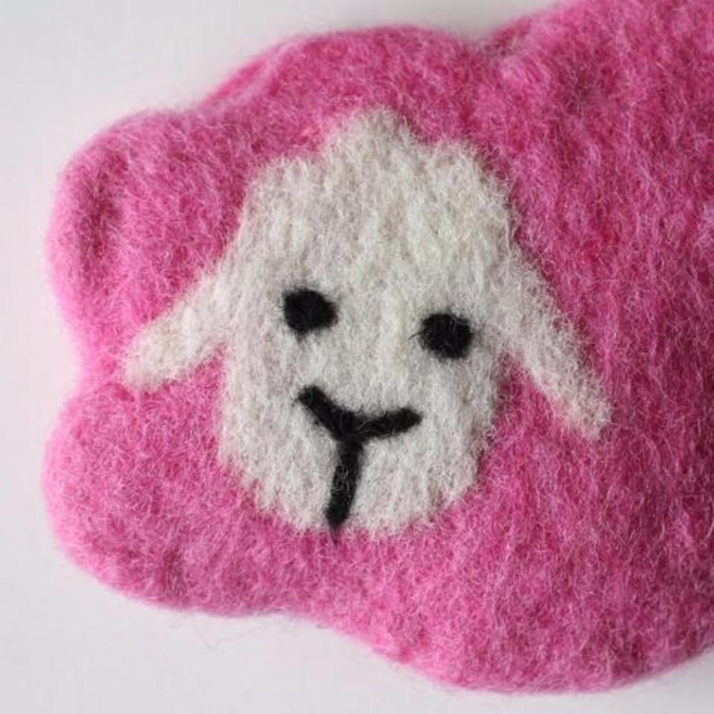 Wonderland Felt Bags and Needlecases Mama Sheep