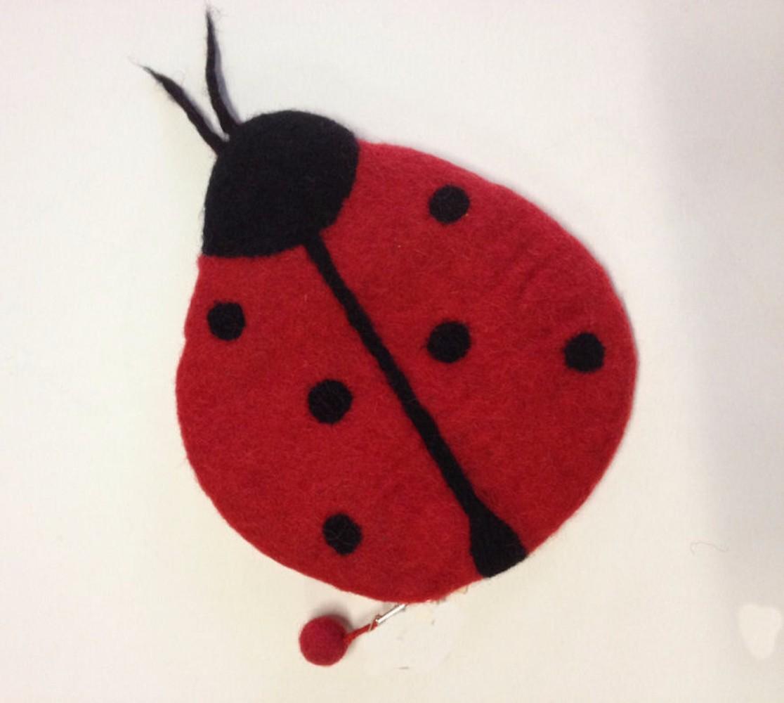 Wonderland Felt Bags and Needlecases Lady Bug