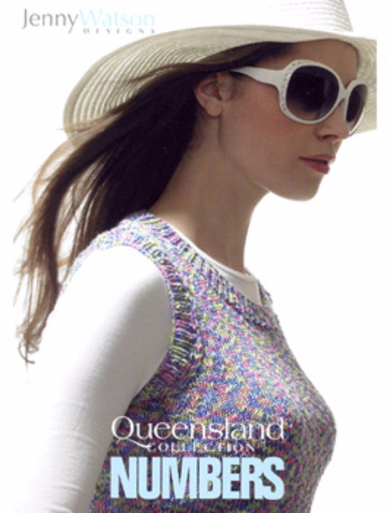 Queensland Collection Numbers by Jenny Watson Designs