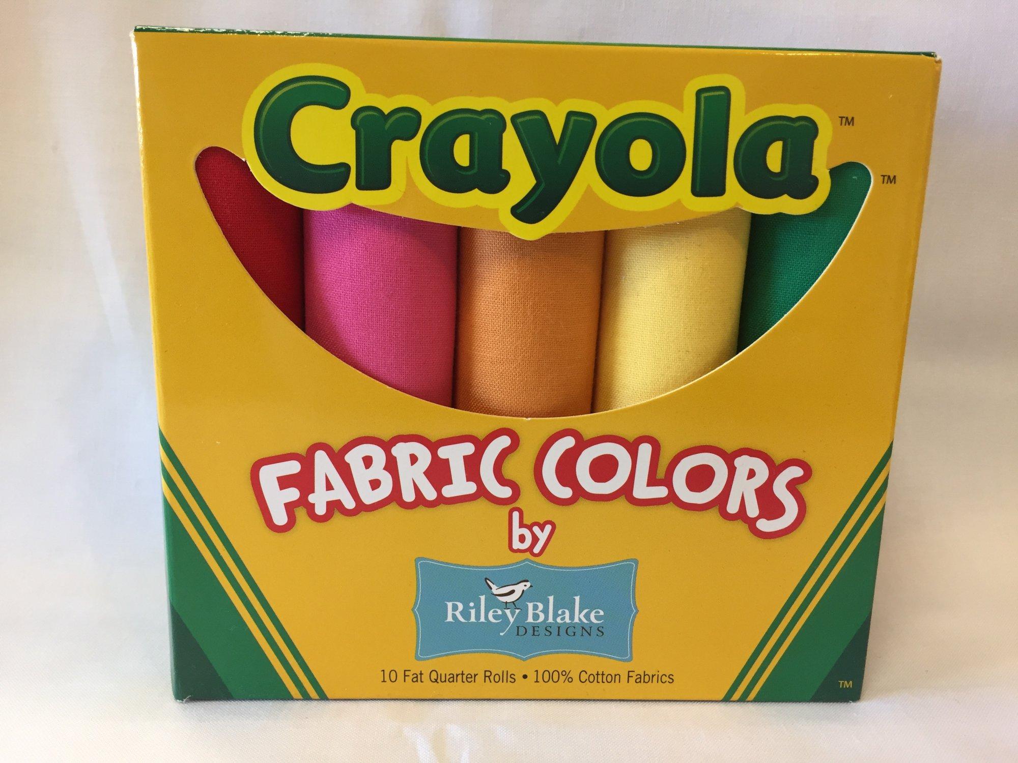 Crayola Fat Quarter Bundle Box 10