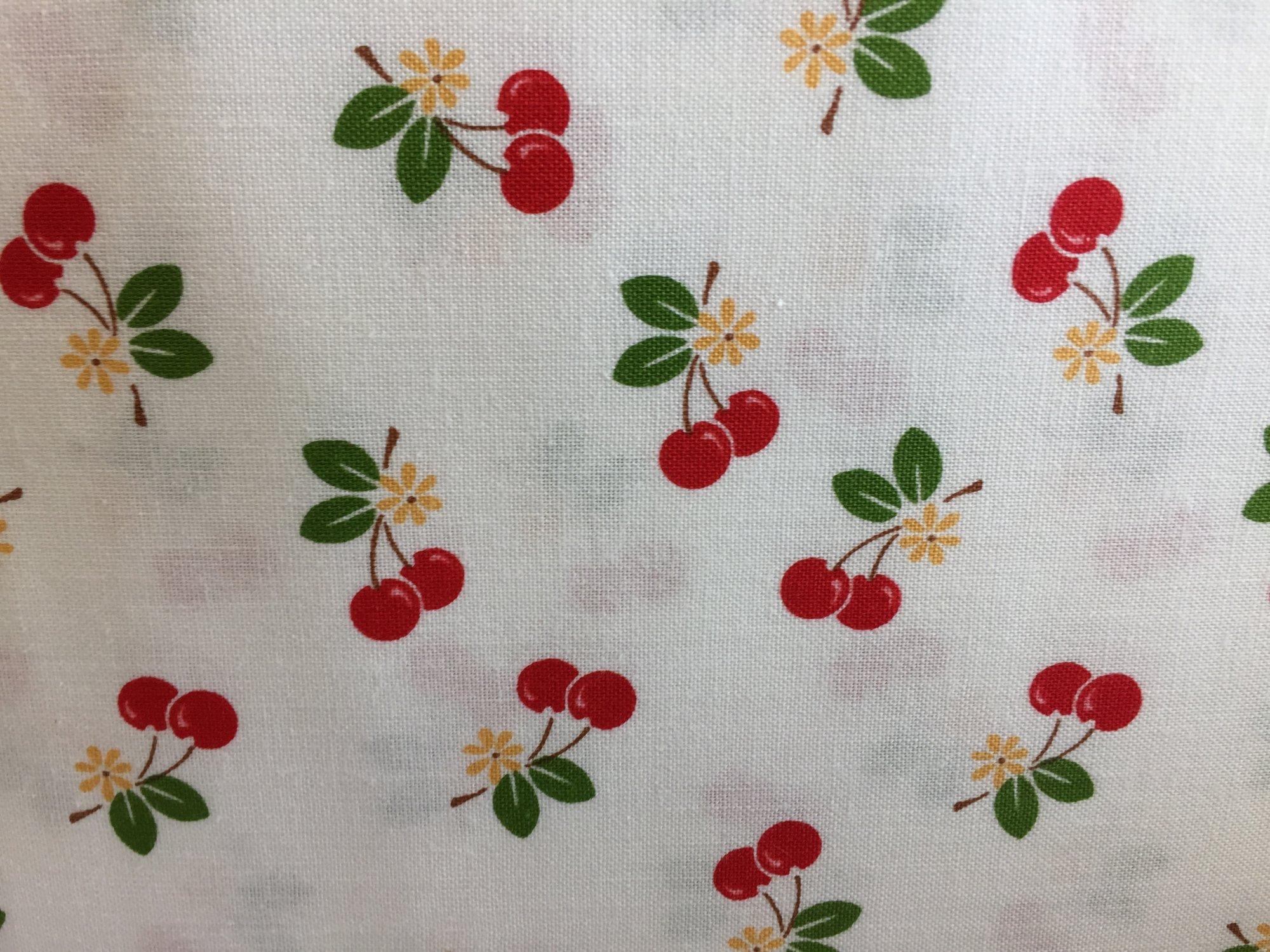 Sew Cherry 2 White Cherries