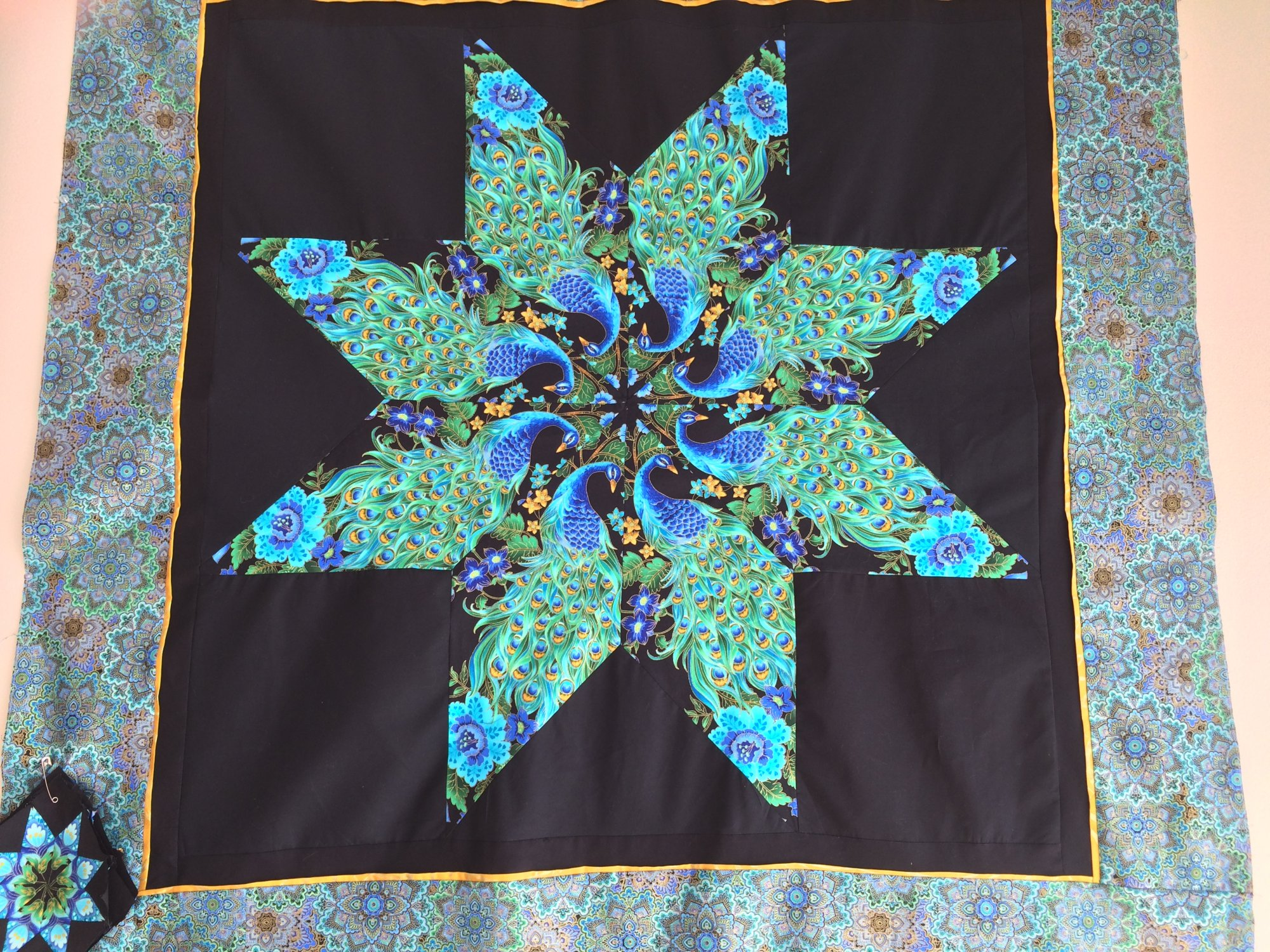 Easy and Elegant Lone Star Quilt Class (Peacock) : easy star quilt - Adamdwight.com