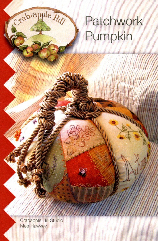 Patchwork Pumpkin Kit - Crabapple Hill Designs