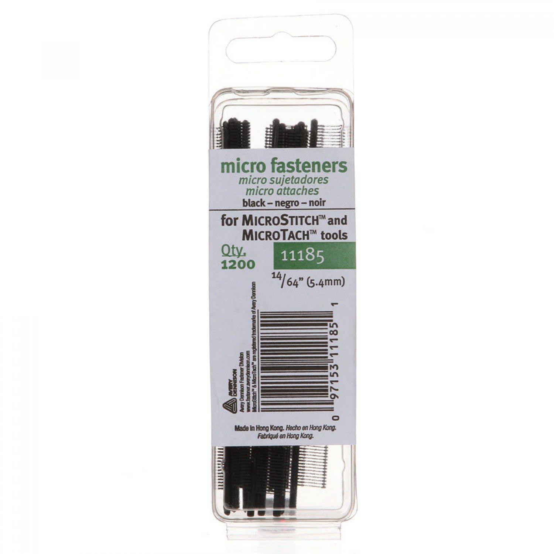 Basting Refills Micro-Stitch Black Sz 14/64