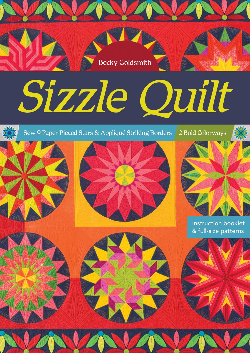Sizzle Quilt ~RELEASE DATE: Oct. 25, 2020~