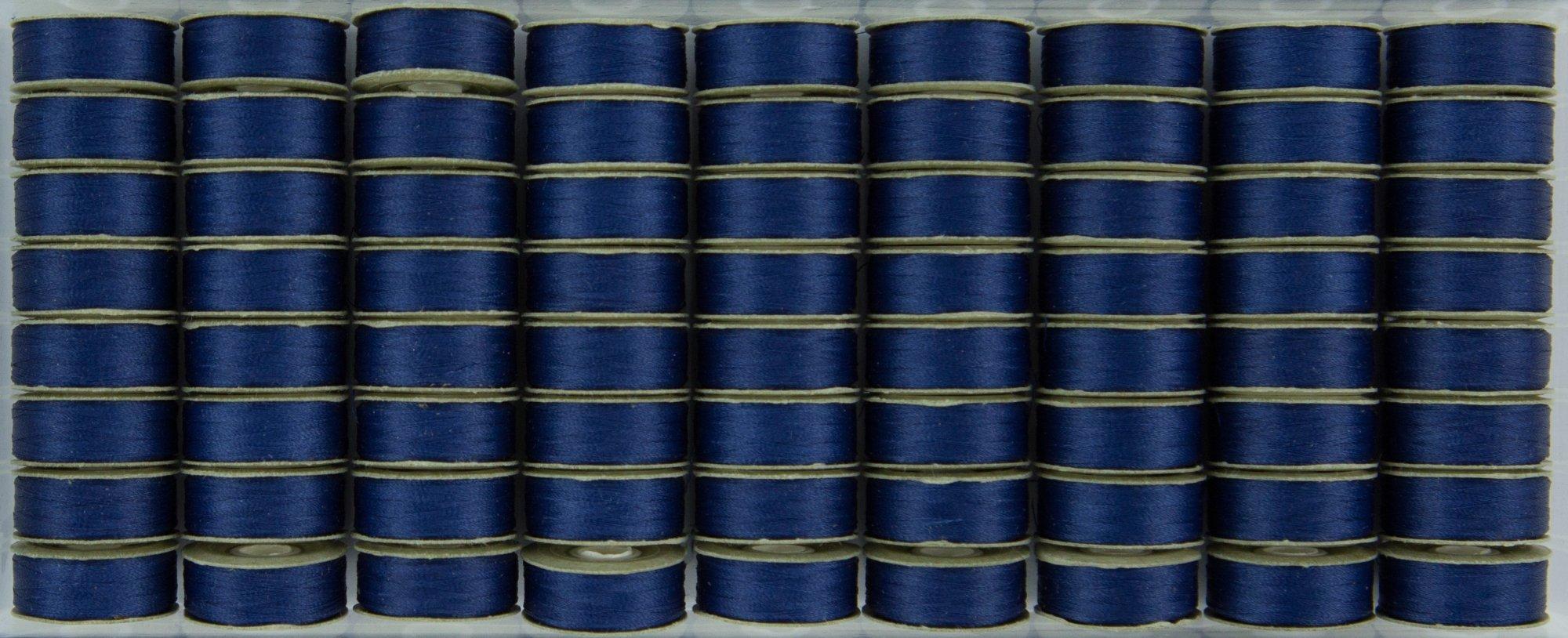 Bobbin L Style Prewound SuperBobs Medium Blue 72ct