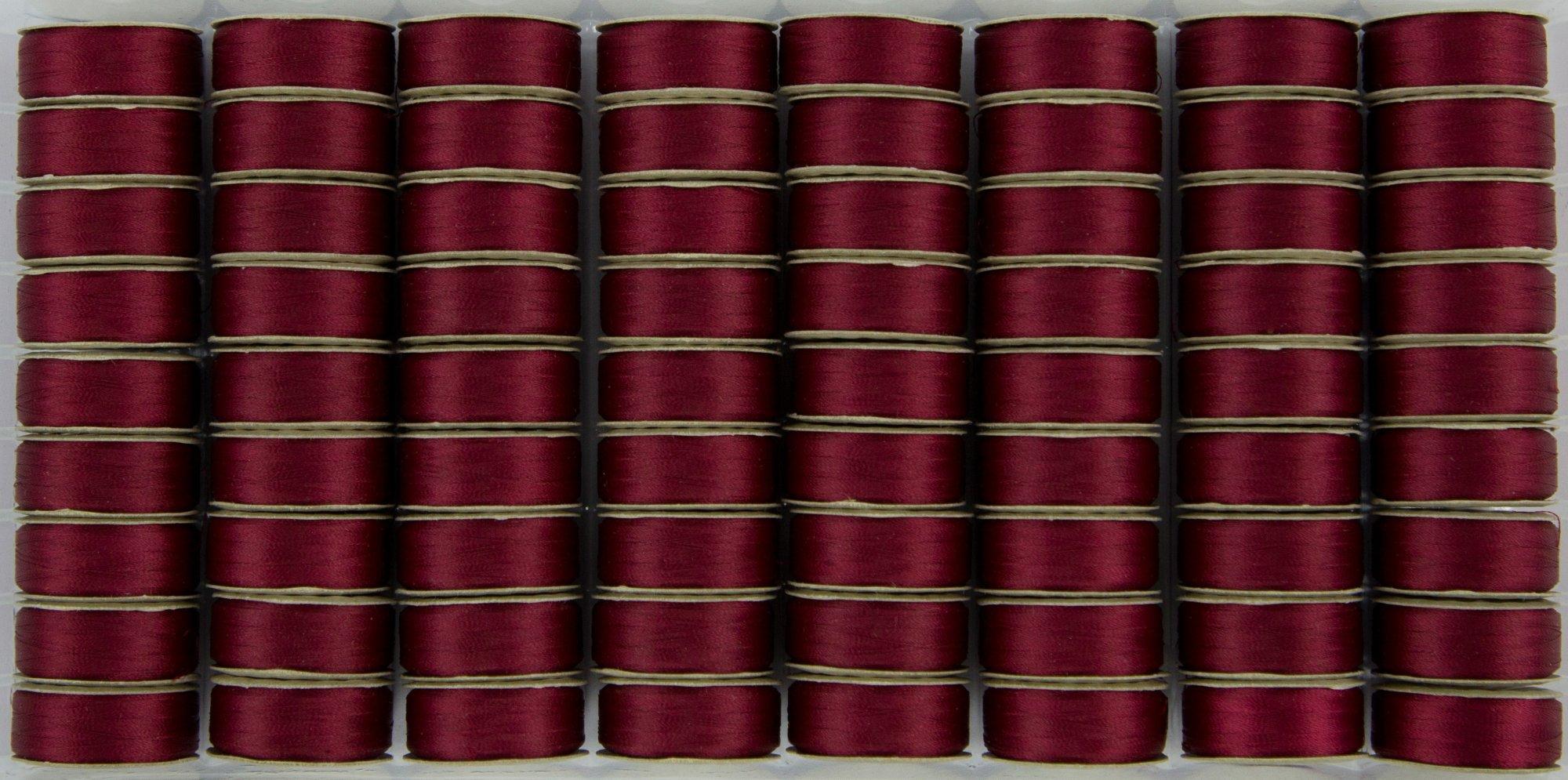 Bobbin M Style Prewound SuperBobs Red 72ct