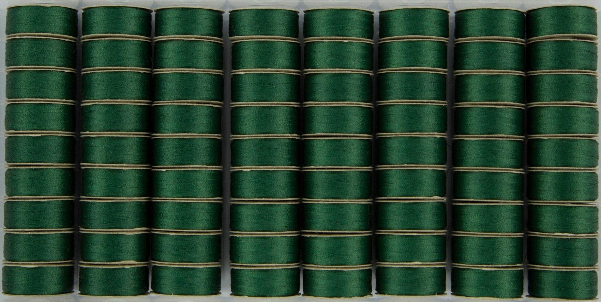 Bobbin M Style Prewound SuperBobs Green 72ct