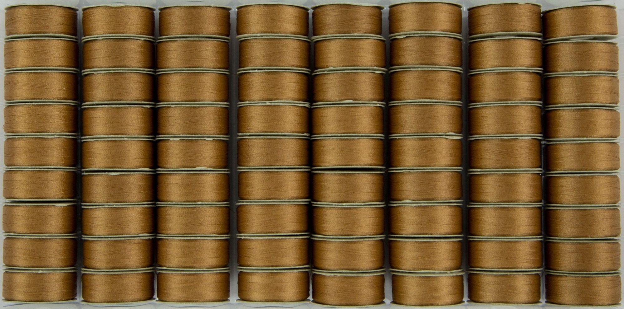Bobbin M Style Prewound SuperBobs Medium Brown 72ct