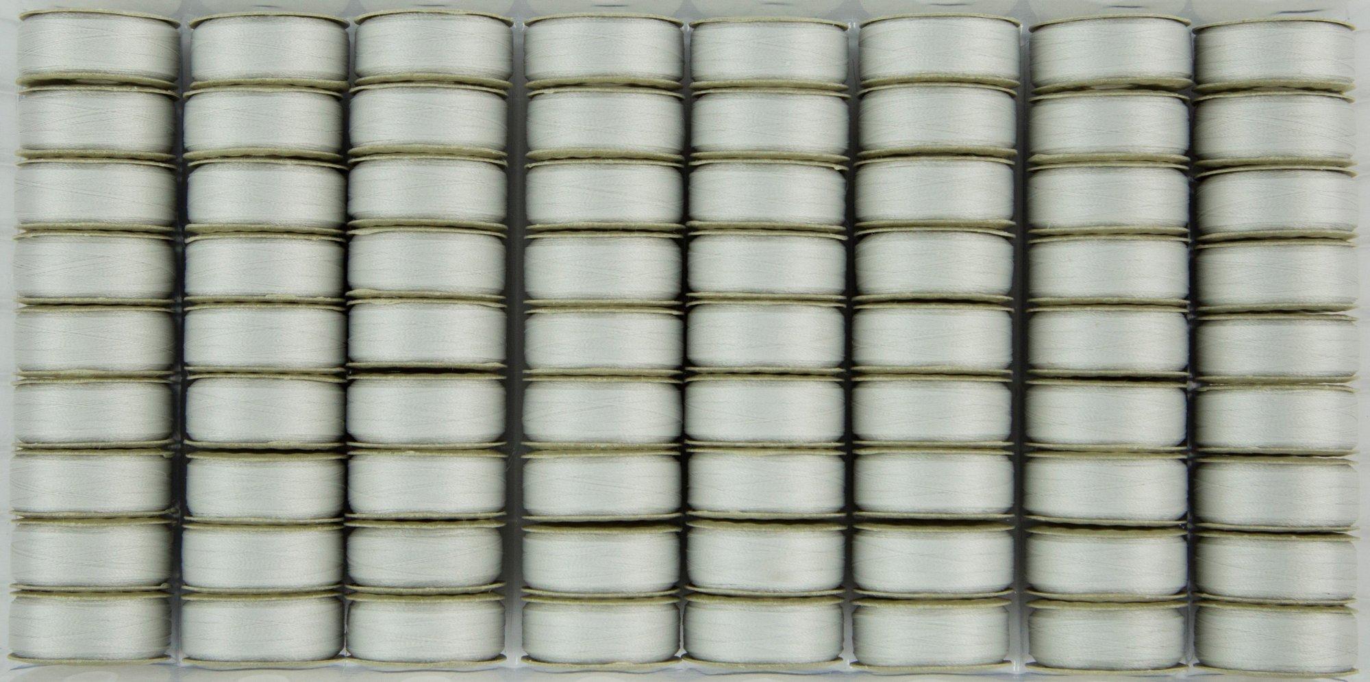 Bobbin M Style Prewound SuperBobs Silver 72ct