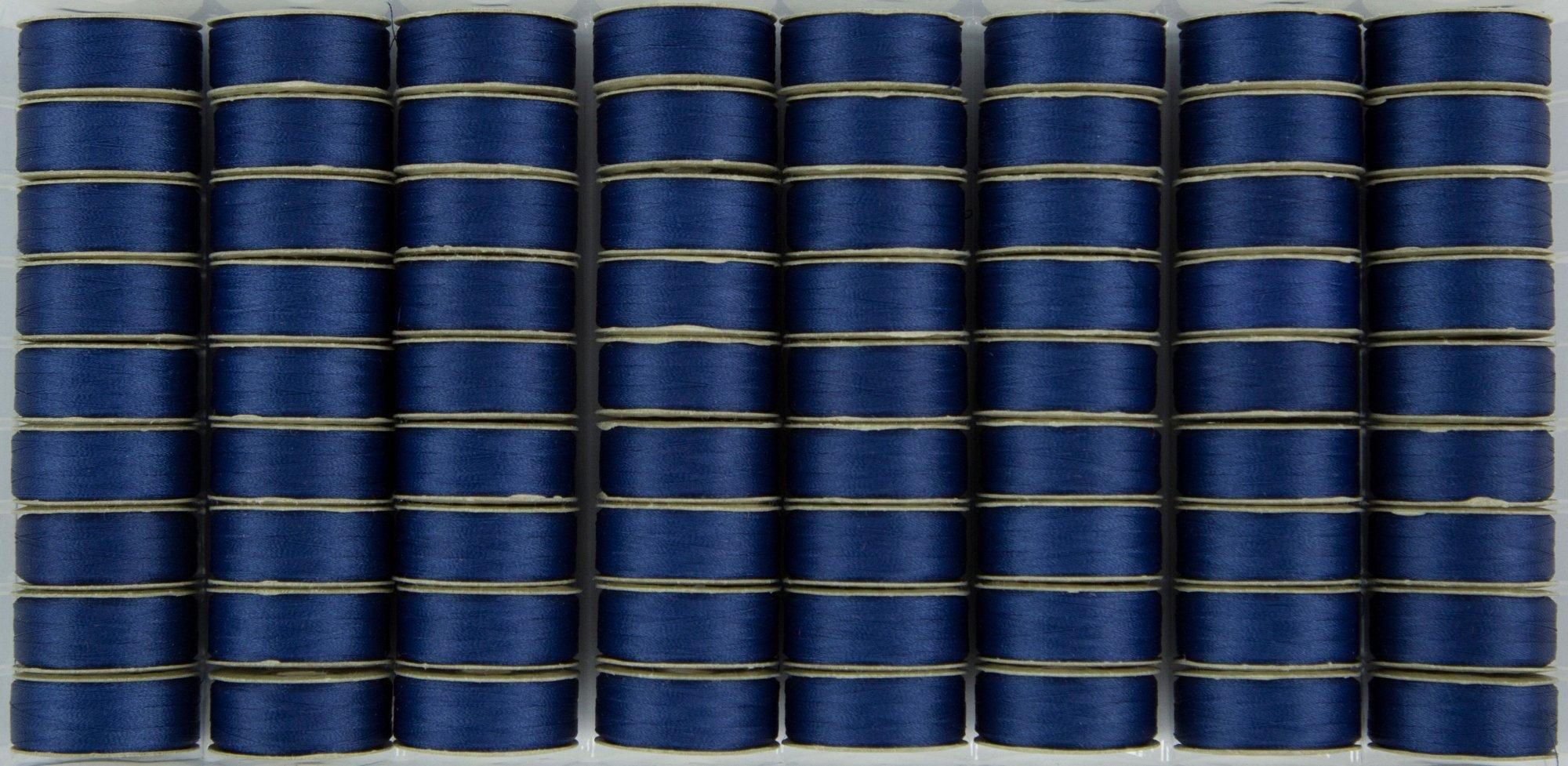 Bobbin M Style Prewound SuperBobs Medium Blue 72ct
