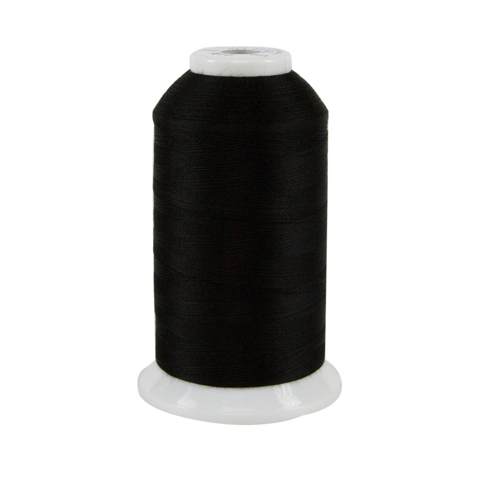 So Fine Polyester Thread 3-ply 50wt 3280yds Black