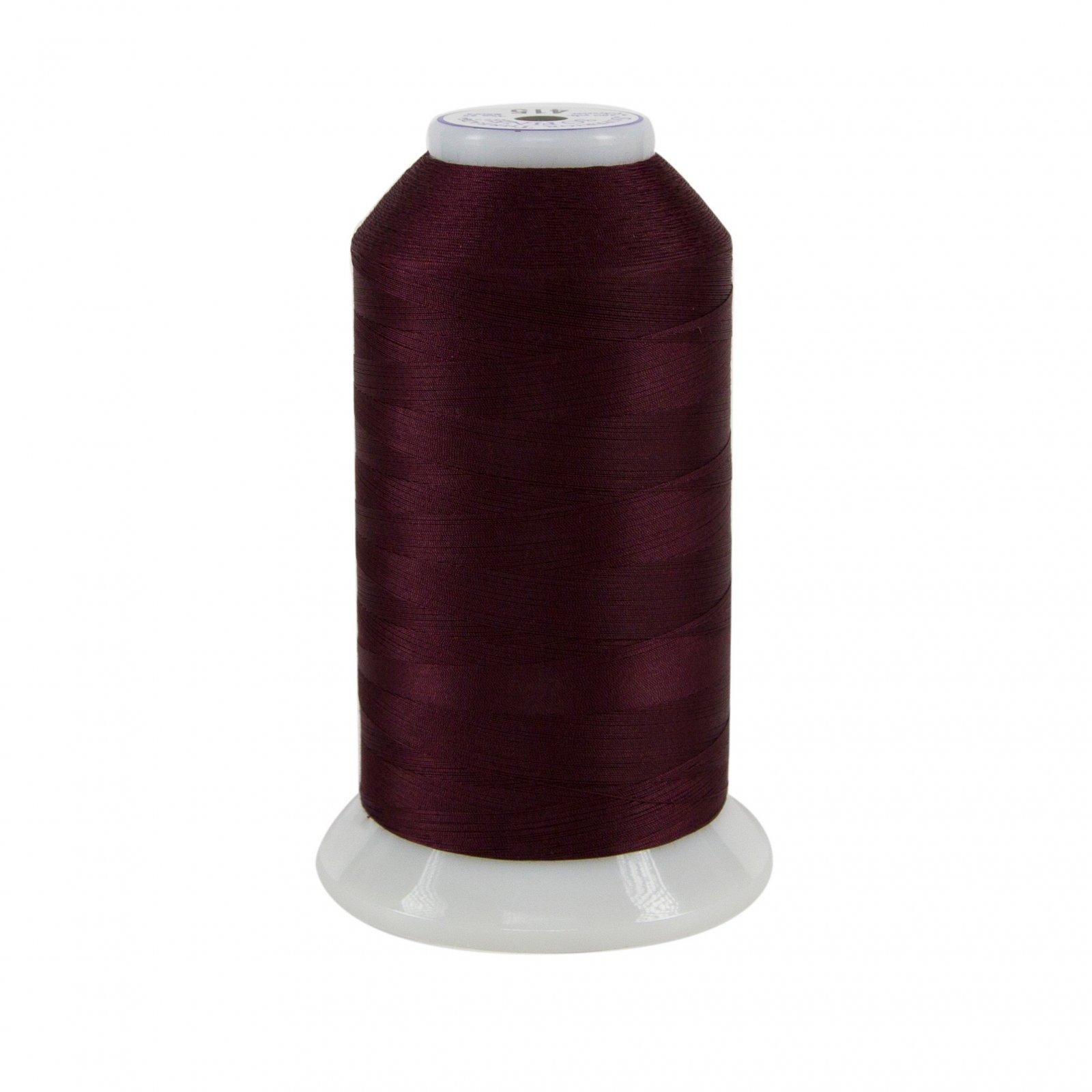 So Fine Polyester Thread 3-ply 50wt 3280yds Cherrywood