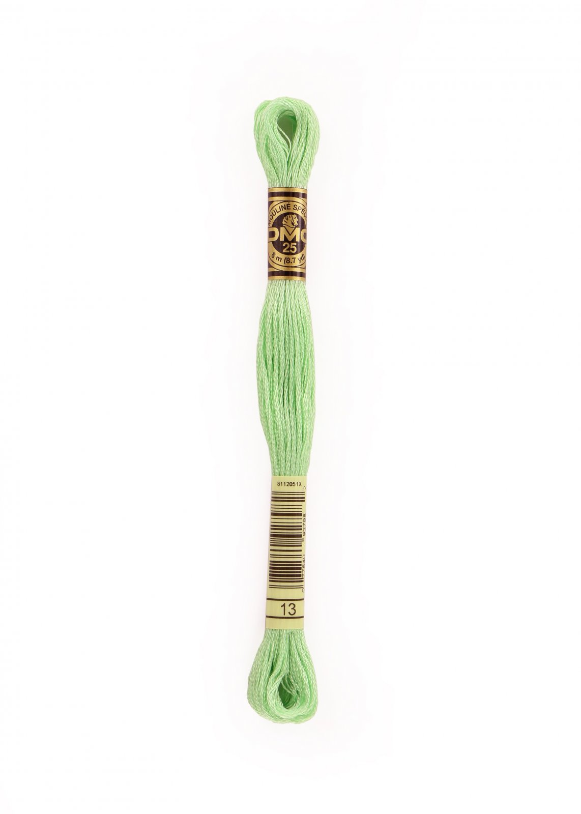 6 Strand Cotton Floss Sz 25 8.7yds - Medium Light Nile Green