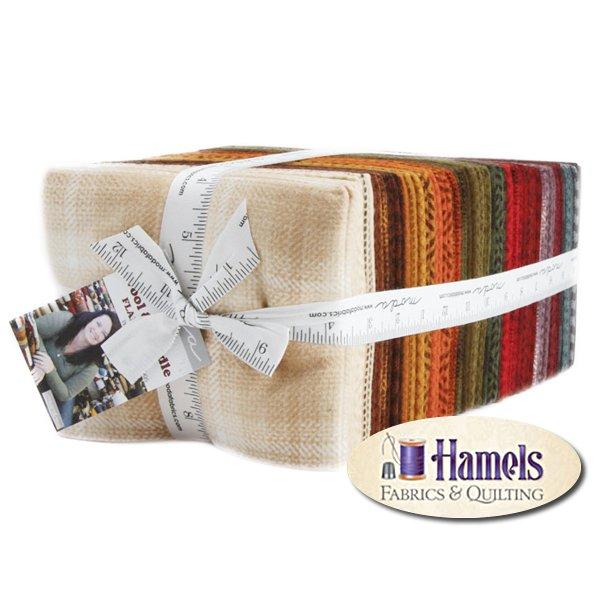 Wool & Needle V Flannel Fat Quarter Bundle