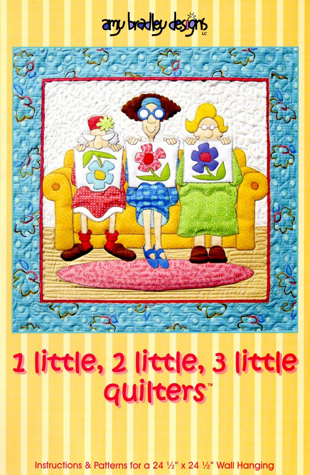 1 Little 2 Little 3 Little Quilters Pre-Cut Kit