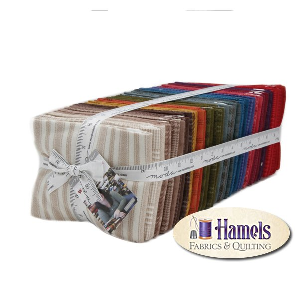 Wool and Needle VI Flannel Fat Quarter Bundle