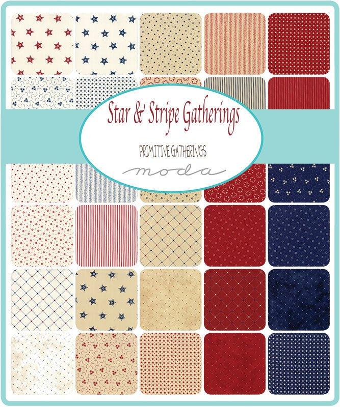 Star and Stripe Gatherings Honey Bun