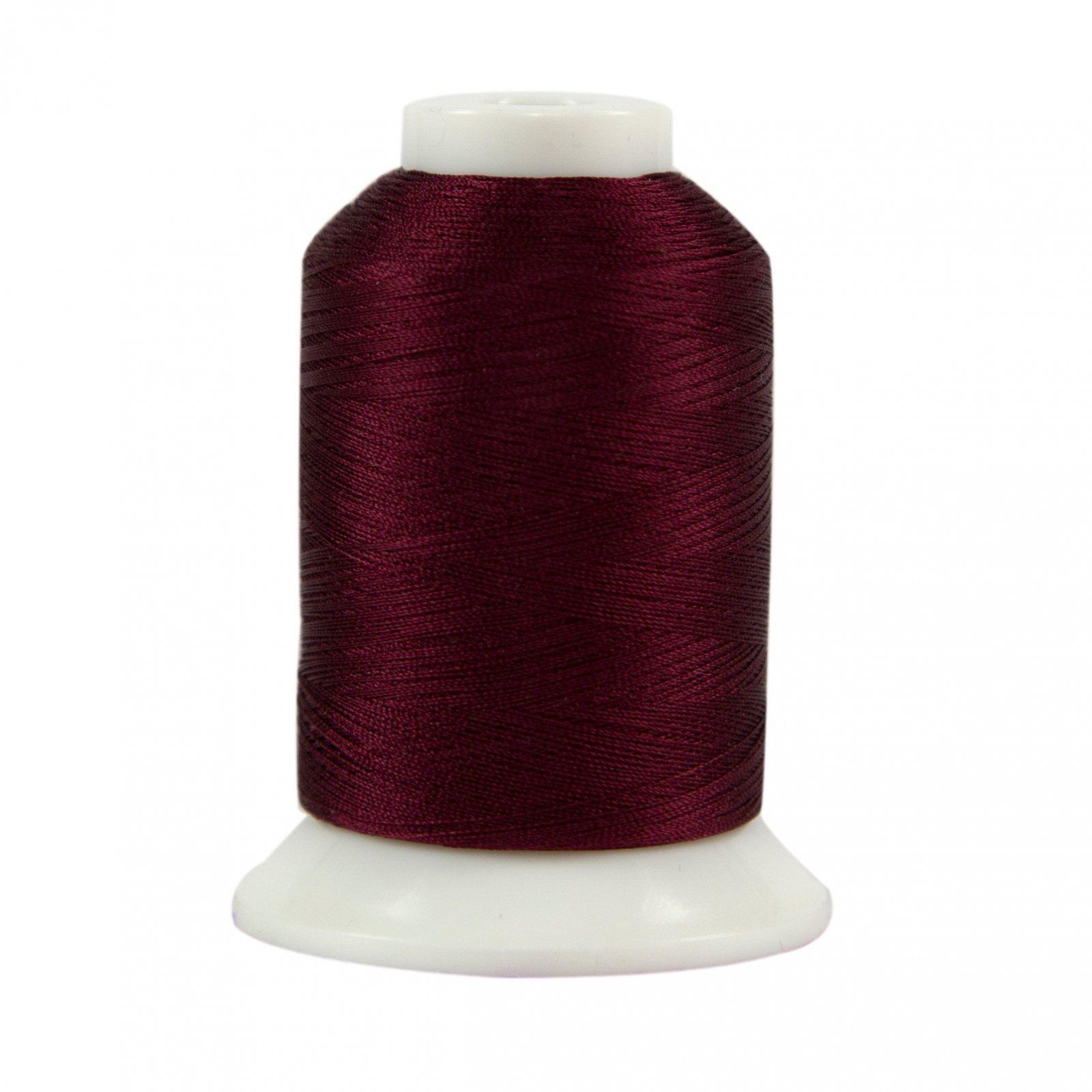 Kimono Silk Thread 100wt 1090yd Raspberry Truffle